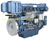 Weichai WHM6160C375-1 marine propulsion diesel engine motor 375HP 1000RPM