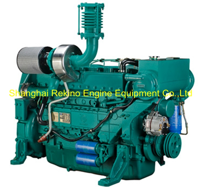 Weichai WP10 stationary pump diesel engine motor 240KW