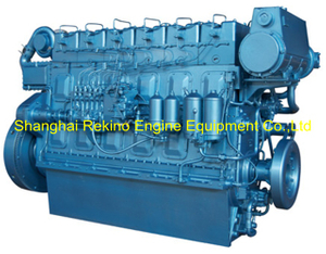 Weichai WHM6160C350-1 marine propulsion diesel engine motor 350HP 1000RPM