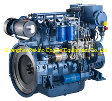 Weichai WP4C102-21 marine boat propulsion diesel engine 102HP 2100RPM