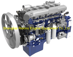 Weichai WP13.550E501 construction diesel engine 550HP 1900RPM for Crane