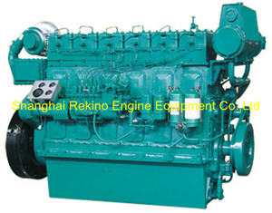 Weichai WHM6160C450-2 marine propulsion diesel engine motor 450HP 1200RPM