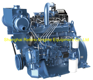 Weichai WP4.1C54-15 marine boat propulsion diesel engine 54HP 1500RPM