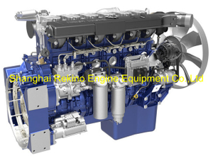Weichai WP13.530E501 construction diesel engine 530HP 1900RPM for Crane
