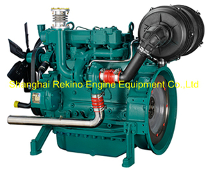 Weichai WP4 pump stationary industrial diesel engine motor 60-100KW 2200RPM