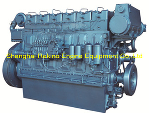 Weichai WHM6160C350-8 marine propulsion diesel engine motor 350HP 850RPM