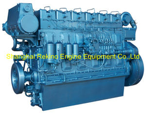 Weichai WHM6160C300-1 marine propulsion diesel engine motor 300HP 1000RPM