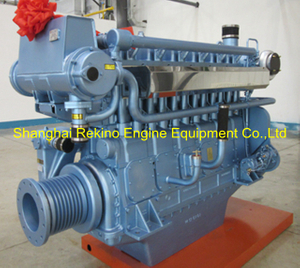 Weichai WHM6160MC660-3 marine propulsion diesel engine motor 660HP 1350RPM