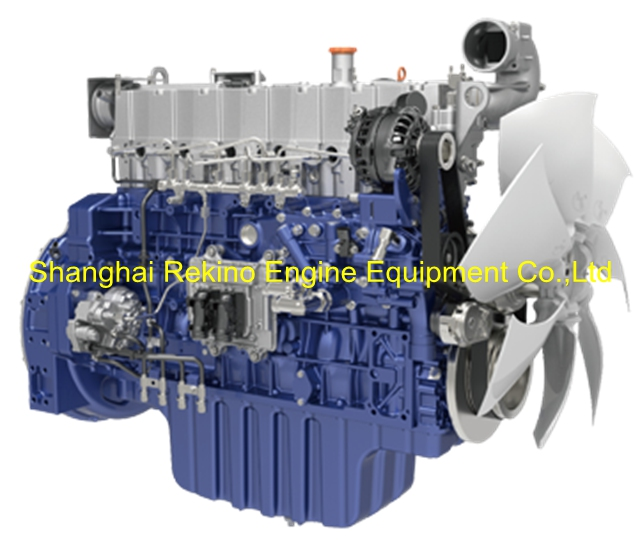 Weichai WP7.270E51 construction diesel engine 270HP 2100RPM for Crane
